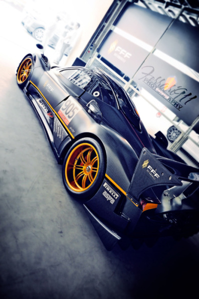 automotivated:  Pagani Zonda R (by 李鱼 Ferrari911)