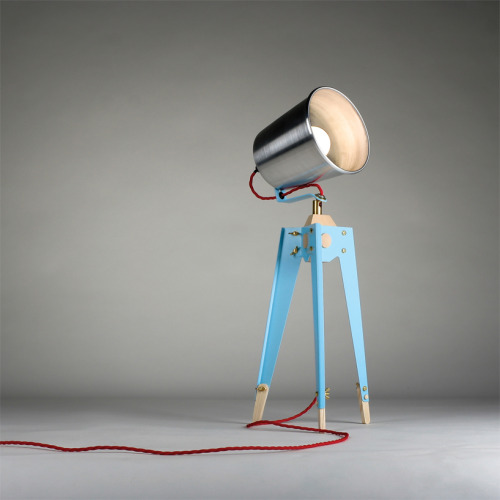 Frank Table Lamp by Oliver Hrubiak via www.blueantstudio.blogspot.ro