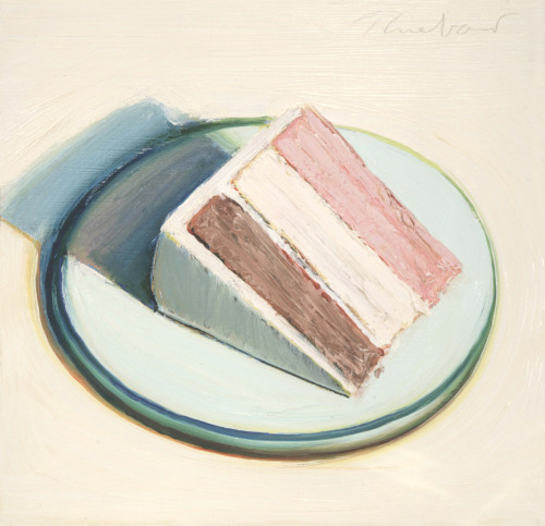 Cake Slice - Wayne Thiebaud