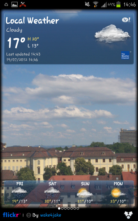 Where is the summer?  (TYVM Yahoo for taking my background pictures)