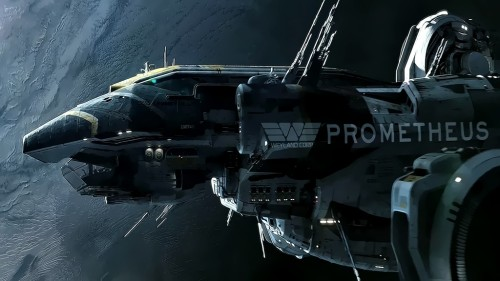 Prometheus Spaceship Wallpaper (« Full Size)