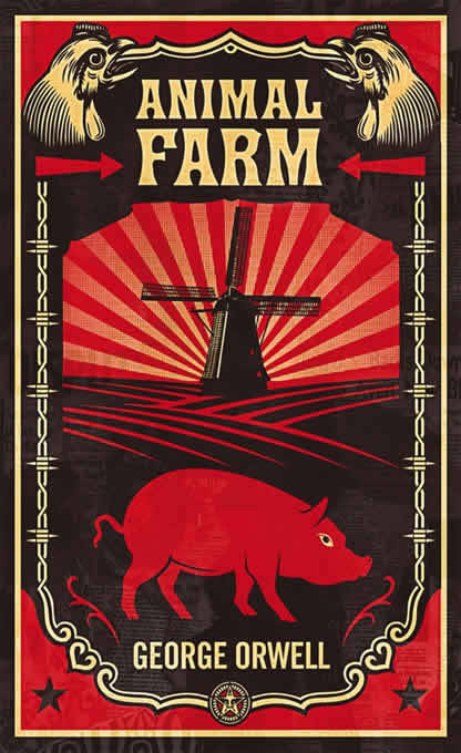 """The human beings did not hate Animal Farm any less now that it was prospering; indeed, they hated it more than ever."" ~ George Orwell, Animal Farm, Ch. 6"