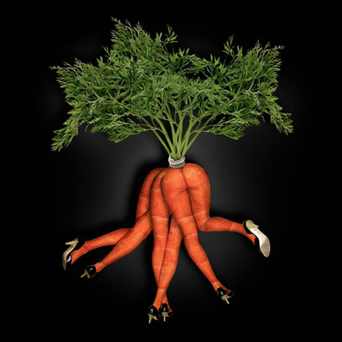 sagerabelaissoul:  Dancing Bunch of Carrots - John Wilhelm