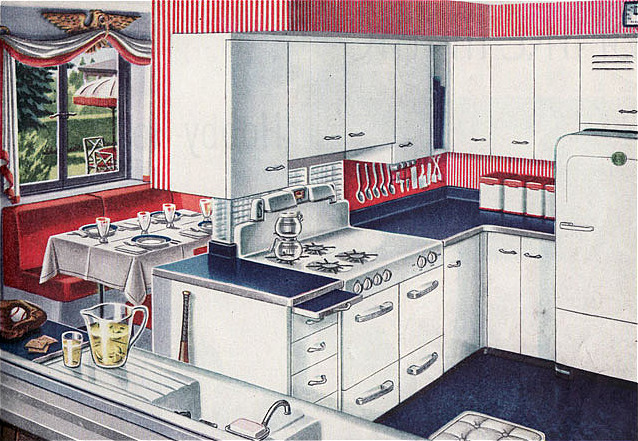 1947 Americana Kitchen, American Gas Association