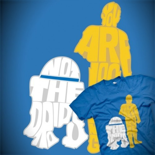 """Not the droids"" by D4N13L HONORABLE MENTION!! Go buy it now!"