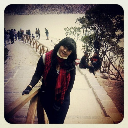 #Holiday #kawahputih  (Taken with Instagram)