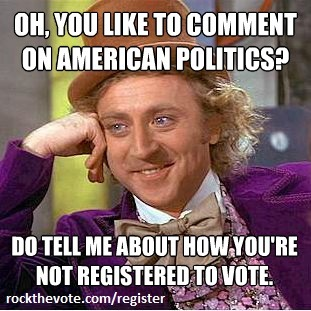 Register to vote here http://bit.ly/O4BVF4