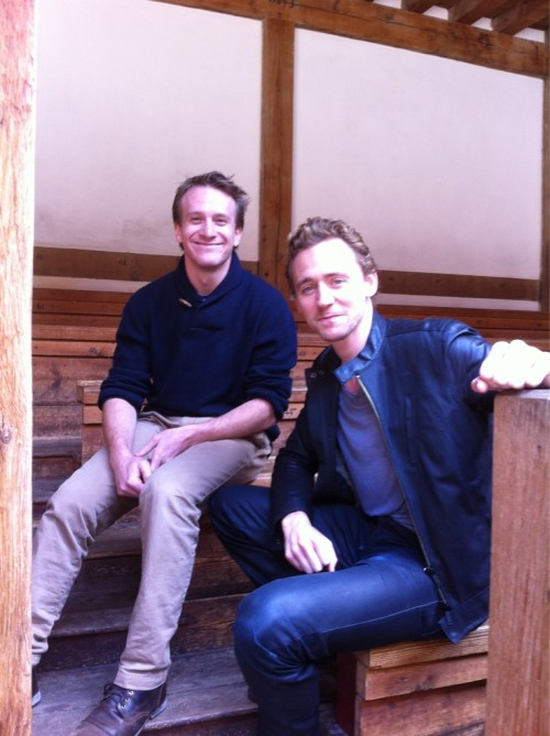 @alicevjones: Oh Wow. Seems there are a few Hiddleston & Parker fans out there. So just for you, here's a bonus pic from our chat… pic.twitter.com/AqEVIN6I