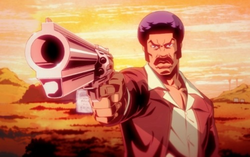 "tylercoates:   A.O. Scott of The New York Times said Black Dynamite would be a better ""five minute clip on YouTube."" What's your response to that?Well, obviously A.O. stands for ""asshole's opinion,"" 'cause we here talking about it right now. Damn movie's been tweeted about every two minutes since 2009.  This is the best Q&A I've read in quite some time.   Great movie. Great new TV show. DYNOMITE."