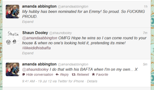 lyssissherlocked:  Amanda Abbington, you are amazing!