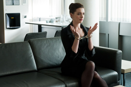 Anne Hathway in The Dark Knight Rises. OUT FRIDAY!!! AHHHHHHH!!!!!
