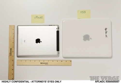 Apple 'Proto 035' comparison.