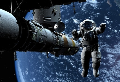 "theatlantic:  What Does Space Smell Like?  When astronauts return from space walks and remove their helmets, they are welcomed back with a peculiar smell. An odor that is distinct and weird: something, astronauts have described it, like ""seared steak."" And also: ""hot metal."" And also: ""welding fumes.""  Our extraterrestrial explorers are remarkably consistent in describing Space Scent in meaty-metallic terms. ""Space,"" astronaut Tony Antonelli has said, ""definitely has a smell that's different than anything else."" Space, three-time spacewalker Thomas Jones has put it, ""carries a distinct odor of ozone, a faint acrid smell.""  Space, Jones elaborated, smells a little like gunpowder. It is ""sulfurous."" Read more. [Image: Shutterstock/1971yes]"
