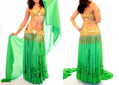 Belly dance costume from BellyDanceStore.com.Click HERE to view more information about the costume.