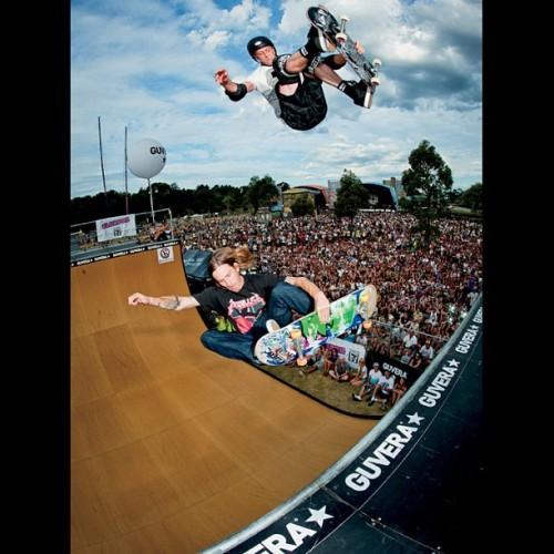 Tony and Riley hawk doubles photo by @atibaphoto from #TSM101 (Taken with Instagram)
