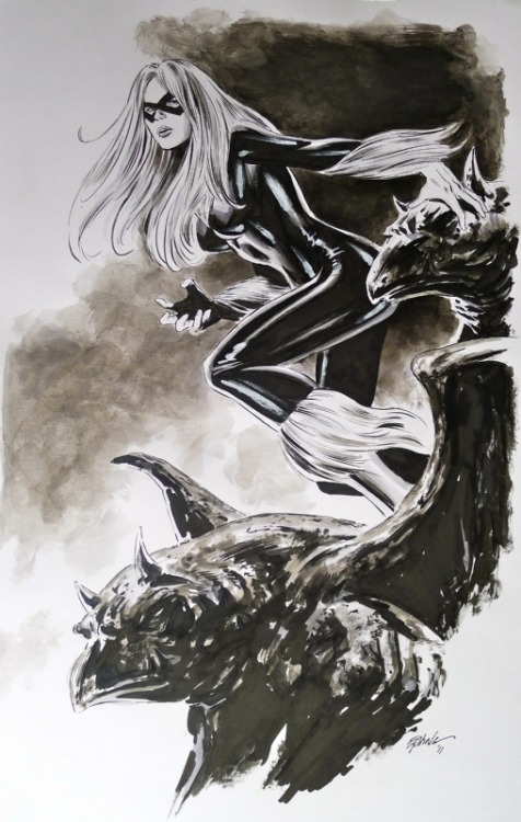 comicknockouts:   Black Cat by Steve Epting