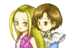 Karen and Elli, Harvest Moon