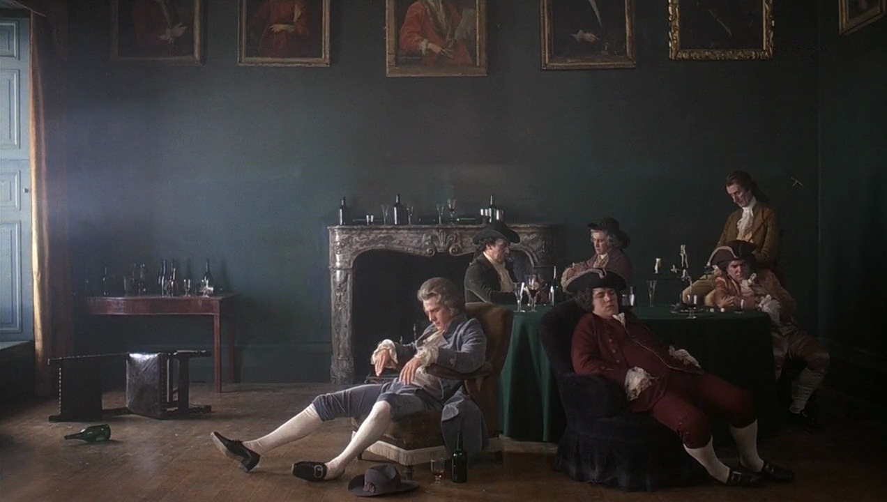 I knew Barry Lyndon was a costume piece, but I hoped he'd take it somewhere else. He took it back in time. The use of the zoom lens is interesting, because you'd never think to use a zoom lens in the past. The zoom lens flattens it out like a 18th-century painting. — Martin Scorsese