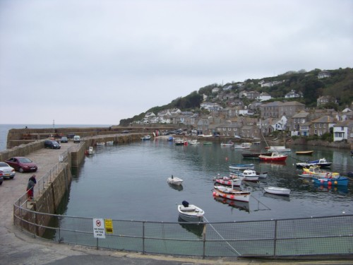 Mousehole, Cornwall, England April 2012
