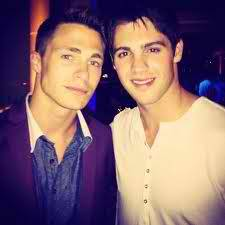 Colton Haynes from Teen Wolf & Steven R. McQueen from TVD