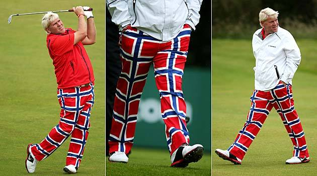 Dear John Daly, What are you wearing? Sincerely, Everyone.
