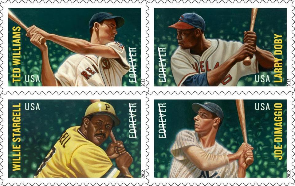 "Postal stamp revives the Williams-DiMaggio rivalry  A competition for the most pre-orders for the new ""All-Stars Forever"" stamps pits Ted Williams against one of his biggest rivals, New York Yankee Joe DiMaggio."