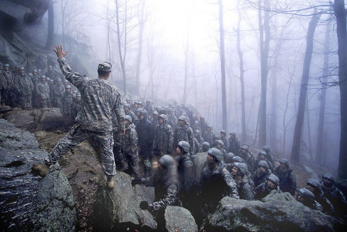 militaryandweapons:  Repelling in Daholnega, Georgia by The U.S. Army on Flickr.
