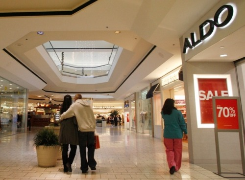 No new malls have been built in the United States since 2006.