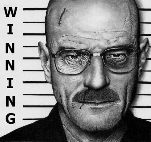 """I am the one who called at the door"" Walt Heisenberg"