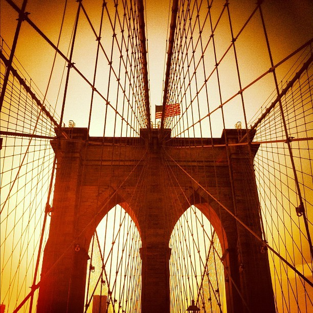 Brooklyn bridge (Pris avec Instagram)