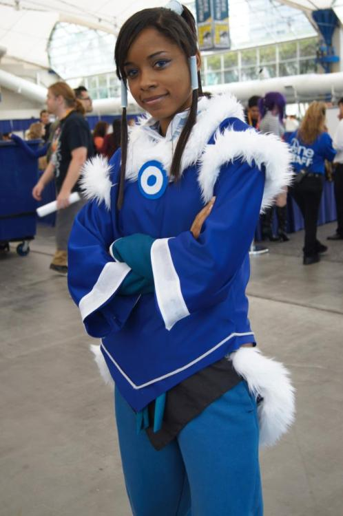 cosplayingwhileblack:  X Character: Korra Series: Legend of Korra   She's beautiful!
