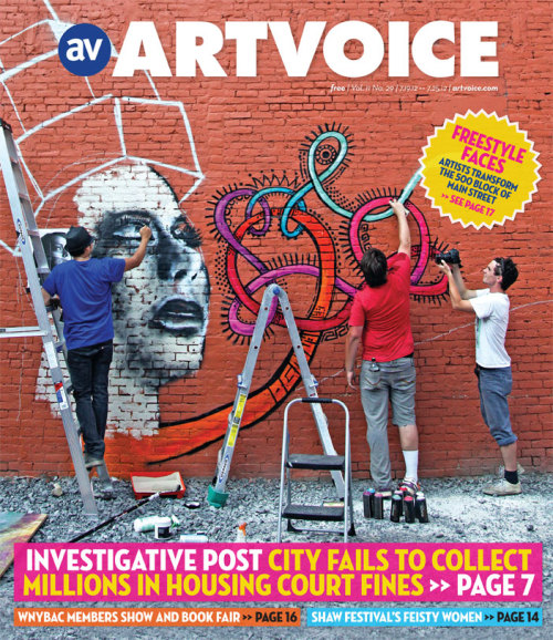 Cover story: http://artvoice.com/issues/v11n29/art_scene/freestyle_faces