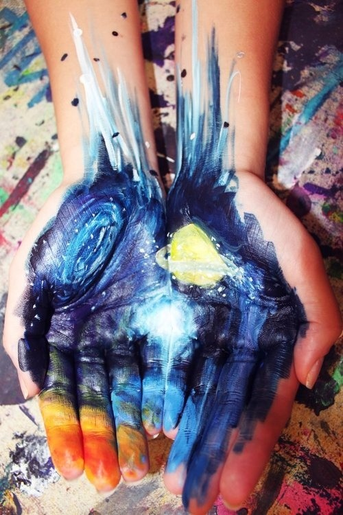 peace-and-awe:  I have the whole world in my hands