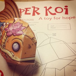 Paper Koi #work #help #thursday #paper #random #igers #insta #igdaily #hope #igdaily #instahub #instagood #instamood #iphonesia #popular  (Taken with Instagram at Finkelstein Memorial Library)