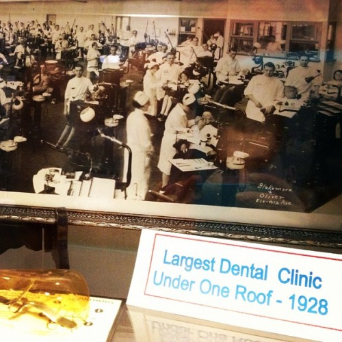 #ThrowbackThursday.  (Taken with Instagram at Marquette School of Dentistry)