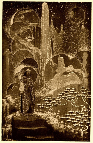"Sidney SimeThe Coronation Of Mr. Thomas Shap (1912)From Lord Dunsany's ""The Book of Wonder, a chronicle of little adventures at the edge of the world."" (1912)"