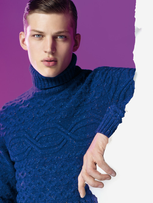 Sebastian Sauve by Giulio Rustichelli for Benetton FW12