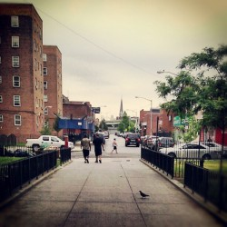 Project Life., #RedHook #Summer #SouthBrooklyn #NewYorkCity #Cloudy #TheHood #Android #Androidography #AmateurPhotography  (Taken with Instagram at NYCHA - Red Hook (East))