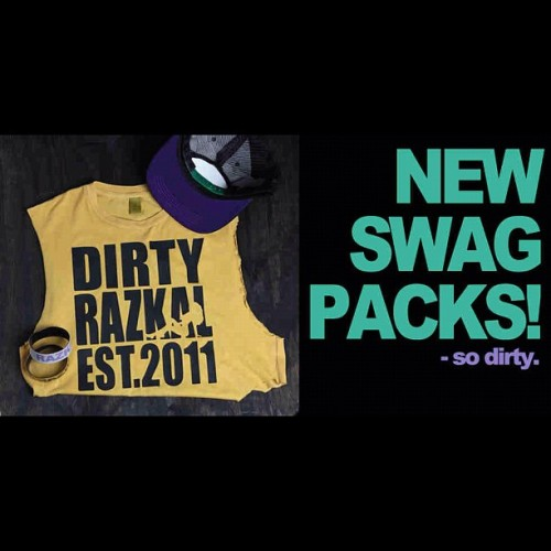 NEW SWAG PACKS!! WWW.DIRTYRAZKAL.COM #snapback #urbanfashion #varsity #jacket #dope #dirtyrazkal #shirt #urban #tee #sale #tshirt #tshirts #swag #style #streetwear #streetstyle #dopeness #fashion #ig #brand #gear #hot #new#apparel #clothing #grunge #dirty #swagpack (Taken with Instagram)