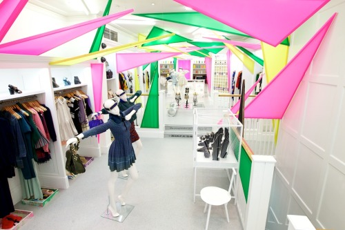openingceremony:  A peek inside our newly opened OC London pop-up shop at 31-32 King Street, Covent Garden! Shop the OC London pop-up shop online here: shop women's | shop men's. Photo by Christopher James