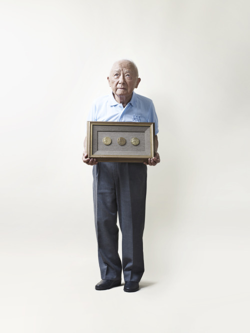 "timelightbox:  Dr. Samuel ""Sammy"" Lee, 91, was the first Asian-American to win an Olympic gold medal for the U.S. at the 1948 London games, and the first man to win back-to-back gold medals in Olympic platform diving. Olympic medalists from the 1948 games in London remember their experiences in the post-war 'austerity' Olympics. Even with a tiny budget and a war-worn country, the athletes managed to have a good time. See more photos here.  He must be the most adorable human being in the world. He says, ""Walking up the 10-m platform, I thought to myself, I've waited 16 years for this moment. Am I going to blow it? So I prayed to God that I was most deserving of winning the Games. And in case he was busy, I also prayed to Buddha and Confucius."" This is such a great story. I know people are inundated with links and pictures and videos on Tumblr, but I'm always pleased to read something so inspiring."