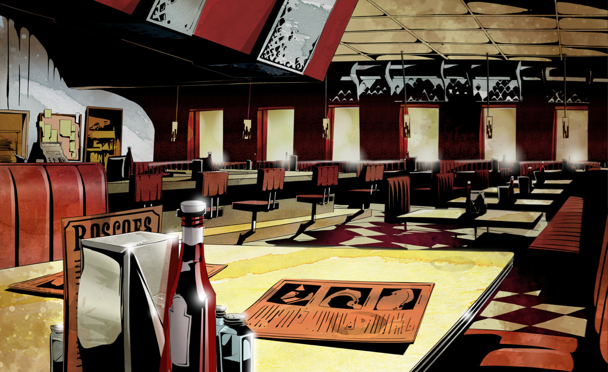 Inside Roscoe's Background Art