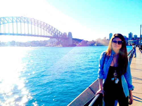 "Selena recently visited Australia and shared this pic from her trip!  She added the caption, ""Australia was magical."""
