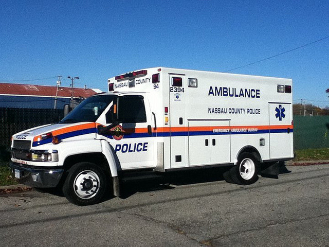 Nassau County Police Ambulance