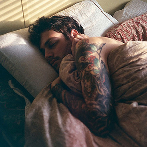"hotguyswithink:  ""S'cuse me tattooed hot guy sir. Can you move over just a bit, I need to cuddle the living shit out of you. Thanks so much"". Hot Guys With Ink."