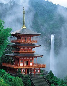 Natinotaki, highest fall in Japan (World heritage in Wakayama)