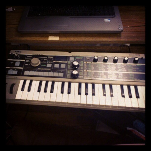 Finally got a MicroKorg :) (Taken with Instagram)