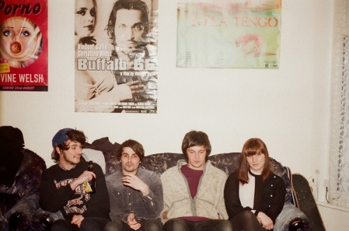 London shoegaze four piece and Cassette Rewind blog favorites Honeyslide are gearing up to release their debut self titled EP which will be available via bandcamp digitally and through a limited run of 100 cassette tapes as well on July 27. The band has been compared to the likes of classic groups such as Slowdive, Galaxie 5000, and even The Pixies but all comparisons aside, they certainly have their own way of crafting unforgettably beautiful songs.  With every track on the EP Honeyslide demonstrates a raw energy and emotion that pulls the listener in and holds their attention until the very end. It's a journey through melodic waves of lo-fi haziness that's built on heavy shoegaze atmospheres and carried along by subtle grunge like tendencies. Fans of the genre and newcomers alike both have something to thoroughly enjoy and you'd surely be mistaken if you were to purposely skip out on this release.   Honeyslide will be having their EP release show @ The Shacklewell Arms in London with My Boy/My Girl, Sealings, and OLD FOREST so all of my followers in the area should definitely go check it out. The admission is free and it lasts from 8pm-3am and with a roster like that you couldn't really ask for more.