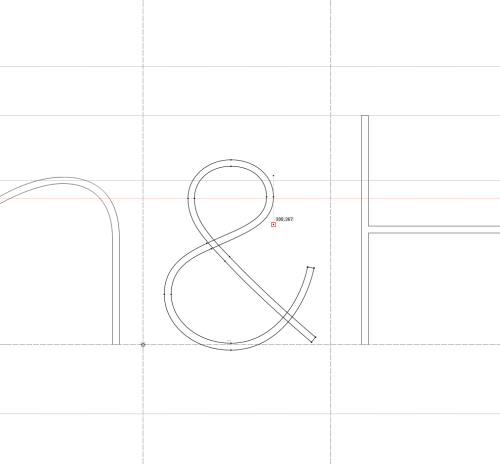 ampersand… better as one line. :)