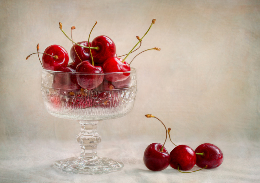 Cherries by Mandy Disher